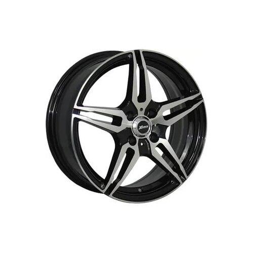 Колесный диск X-Race AF-10 6.5x16/4x100 D60.1 ET50 BKF колесный диск x race af 10 6x15 4x100 d60 1 et50 bkf