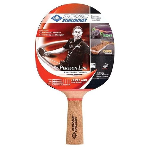 Ракетка Donic Persson 600 ракетка для настольного тенниса donic persson 600 728461