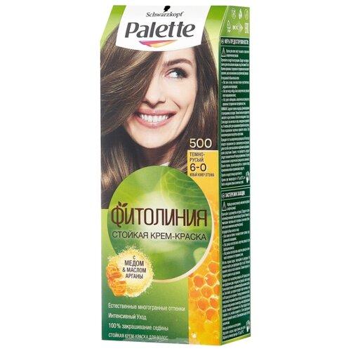 Фото - Palette Фитолиния Стойкая крем-краска для волос, 500 6-0 Темно-русый краска д волос palette n7 русый