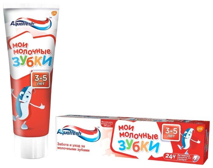 Зубная паста Aquafresh Мои молочные зубки от 3 до 5 лет