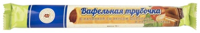 Трубочка Преображенский с начинкой со вкусом шоколада и лесного ореха 21%, 70 г