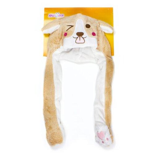 Купить Головной убор 1 TOY Хлоп-Ушки Собака (Т17637), коричневый/белый, Карнавальные костюмы