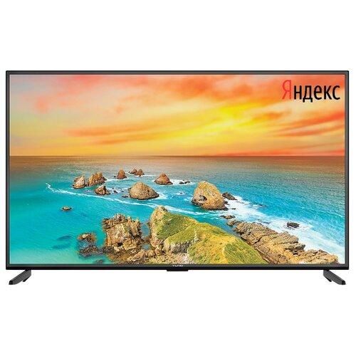 Фото - Телевизор Yuno ULX-50UTCS333 50 (2020) на платформе Яндекса черный телевизор leff 55u610s 55 2020 на платформе яндекса черный