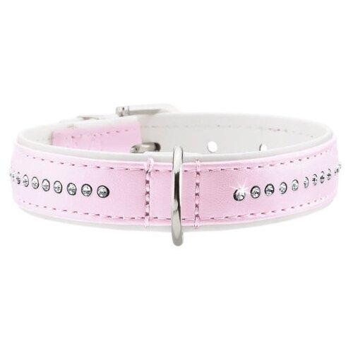 Ошейник HUNTER Modern Art Luxus 27 20-23 см light pink/white