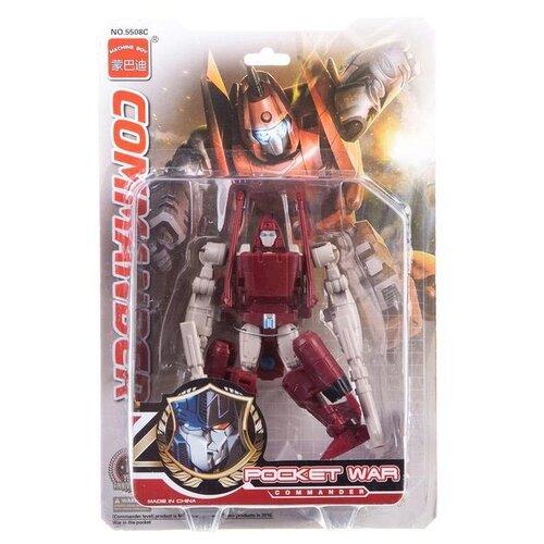 Купить Трансформер Machine Boy Pocket War Commander 5508C красный, Роботы и трансформеры