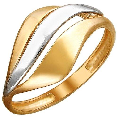Эстет Кольцо из красного золота 01К0112191Р, размер 16.5 ЭСТЕТ