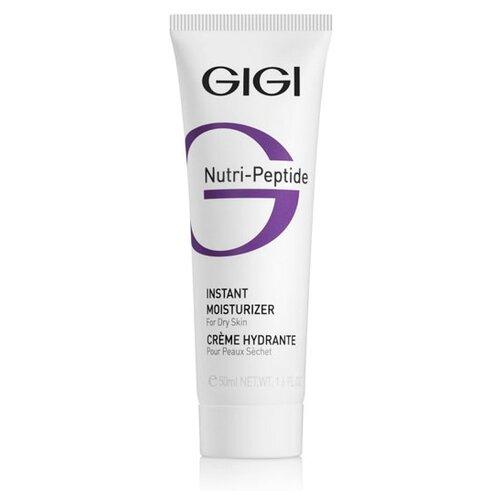 Gigi Nutri-Peptide Instant Moisturizer Пептидный крем мгновенное увлажнение для сухой кожи лица, 50 мл gigi пептидный увлажняющий балансирующий крем для жирной кожи 50 мл gigi nutri peptide