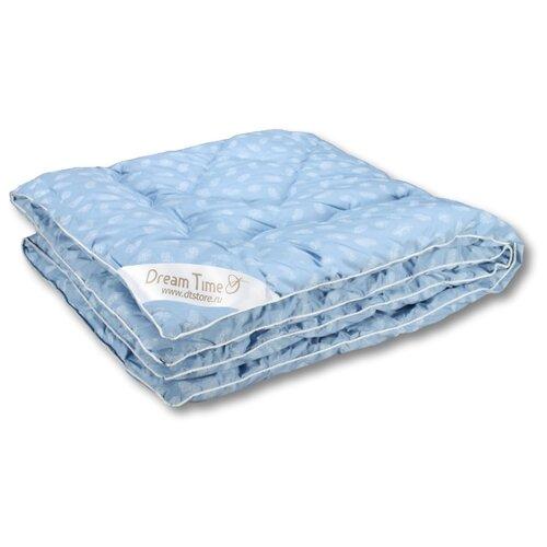 Одеяло DREAM TIME ДТ-ОСЛП-Д-10 110х140 см голубой с перьями