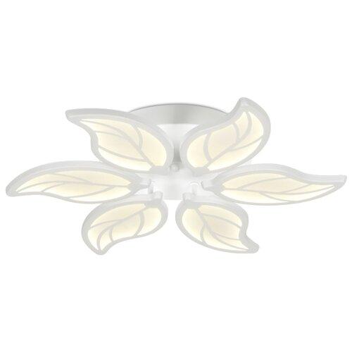 Светильник светодиодный Ambrella light FA459/6 WH, LED, 90 Вт светильник светодиодный ambrella light fa457 6 3 wh led 135 вт