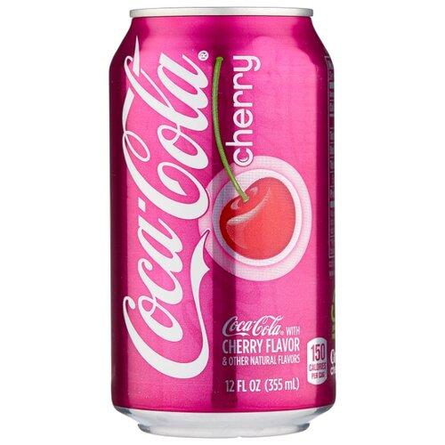 Газированный напиток Coca Cola Cherry, США, 0.355 л сувенир coca cola 2015