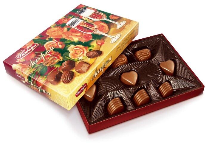 Картинка с коробки конфет дети