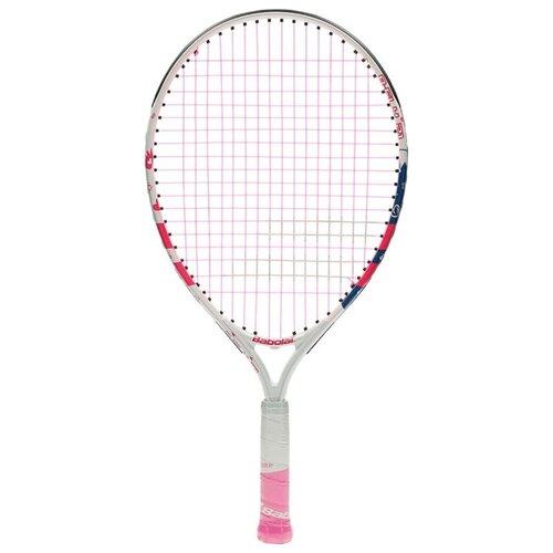 Ракетка для большого теннисаBabolat B`FLY 21 21'' 000 белый/розовый