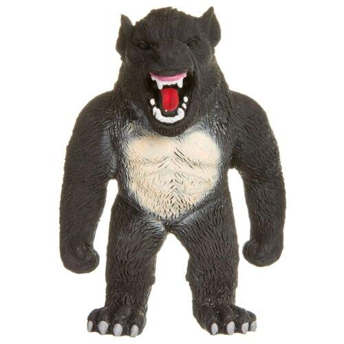 Игрушка-мялка BONDIBON Чудики Монстр Волк (ВВ3976) черный