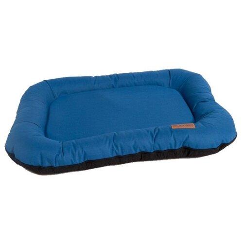 Лежак для собак Katsu Pontone Grazunka L 88х73х15 см синий