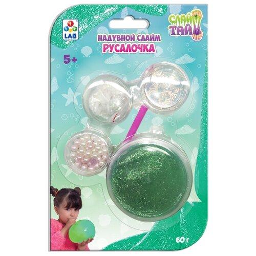 Лизун 1 TOY Слайм тайм Русалочка Т17640 зеленый