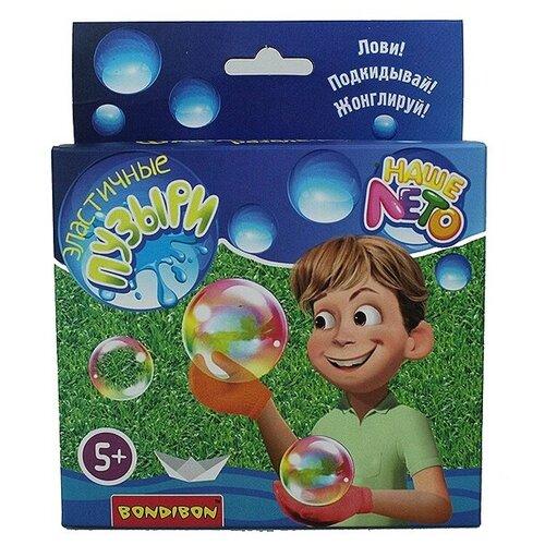 Набор эластичные мыльные пузыри Наше Лето ВВ2798 120мл разноцветный недорого