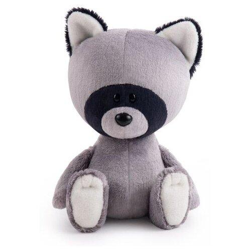 Фото - Мягкая игрушка Лесята Енот Лёка 15 см мягкая игрушка лесята ёжик игоша в свитере 15 см