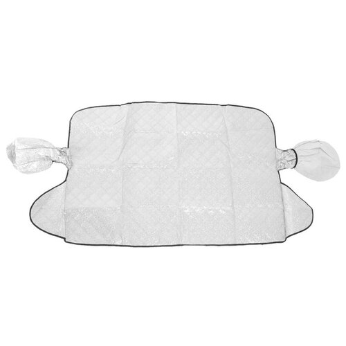 Тент Cartage для лобового стекла и боковых зеркал 4466360 серебристый