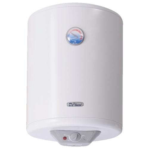 Накопительный электрический водонагреватель De Luxe W50V1 водонагреватель накопительный de luxe w50v 50л 1 5квт белый
