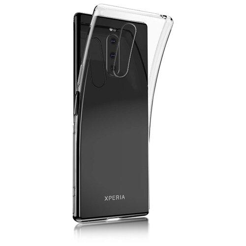 Чехол Rosco 1-TPU для Sony Xperia 1 прозрачный