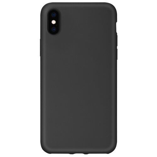 Чехол-накладка HARDIZ Liquid Silicone Case для Apple iPhone Xs Max space gray телефон apple iphone xs 64gb a2097 space gray