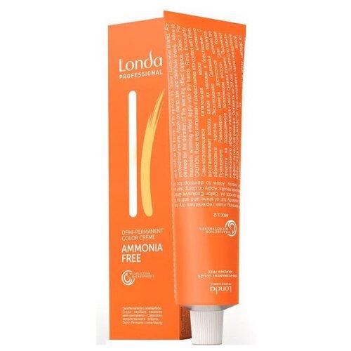 Londa Professional деми-перманентная крем-краска Ammonia-free, 60 мл, 3/0 темный шатен matrix socolor beauty крем краска перманентная 3n темный шатен 90 мл