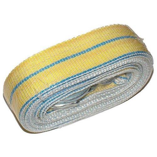 Ленточный буксировочный трос Dollex TB-050 (5 м) (5 т) желтый/синий