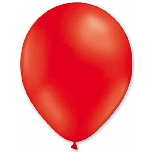 Набор воздушных шаров MILAND Пастель 21 см (100 шт.) красный