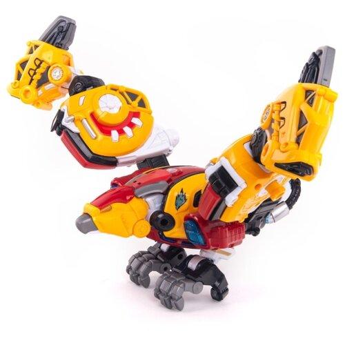 Купить Трансформер YOUNG TOYS Metalions Argentavis желтый/красный, Роботы и трансформеры