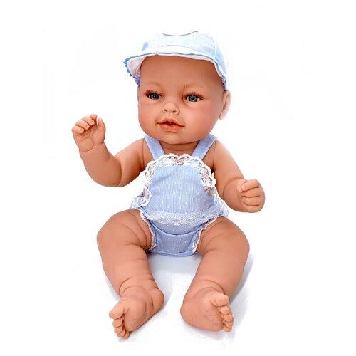 Кукла Manolo Dolls Leo nino, 48см, 8066 кукла младенец manolo dolls мягконабивной canguros 30см 4500