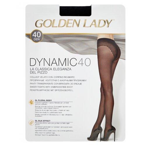 Колготки Golden Lady Dynamic 40 den, размер 4-L, nero (черный) колготки golden lady dynamic 40 den размер 4 l nero черный