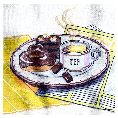 Купить Созвездие Набор для вышивания крестом Чай 20 х 19, 5 см (К-210), Наборы для вышивания