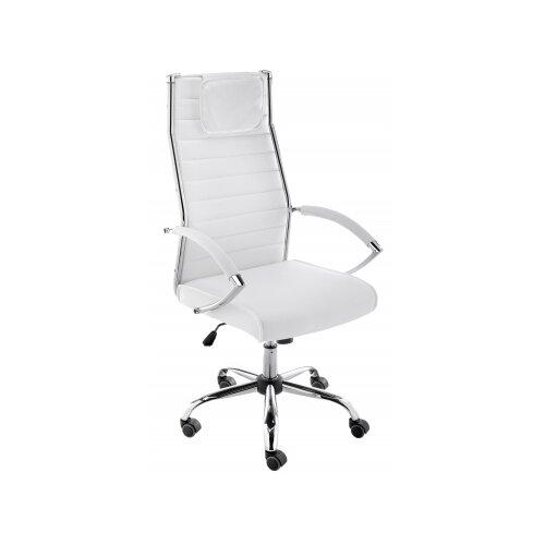 Фото - Компьютерное кресло Woodville Spike офисное, обивка: искусственная кожа, цвет: белый компьютерное кресло woodville rich офисное обивка искусственная кожа цвет коричневый
