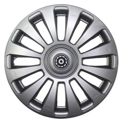 Колпаки колесные 16'' ''бест'', передние на газель, серебристый, компл. 2шт. Airline AWCC1607