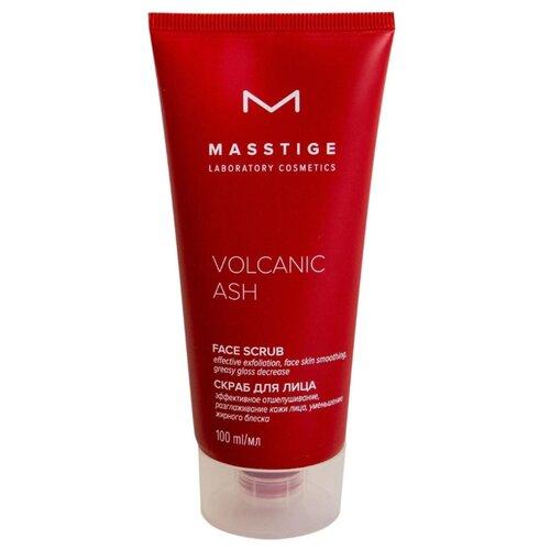 Masstige скраб для лица Volcanic Ash Face scrub 100 мл masstige мист освежающий volcanic mineral water 200 мл