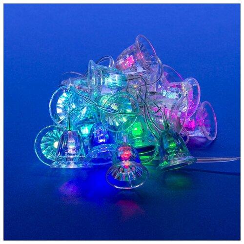 Гирлянда Uniel нить 07919 (280 см), 20 ламп, RGB/прозрачный провод
