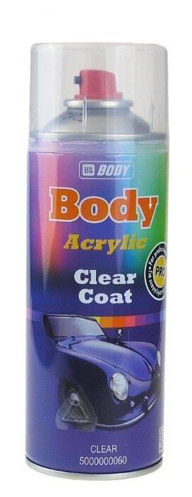 Аэрозольный автомобильный лак HB BODY Clear Coat