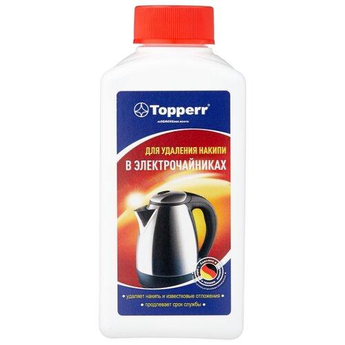 Фото - Средство Topperr для очистки от накипи чайников 3031 средство topperr для очистки от накипи кофемашин 3006