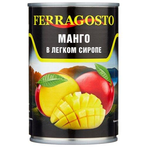 Манго в сиропе Ferragosto, жестяная банка 425 г
