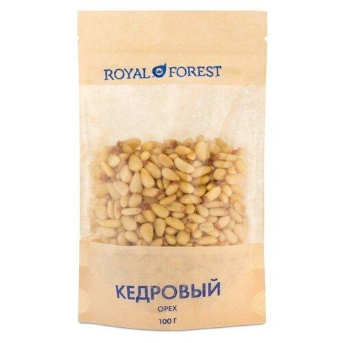 Кедровый орех ROYAL FOREST очищенный бумажный пакет 100 г