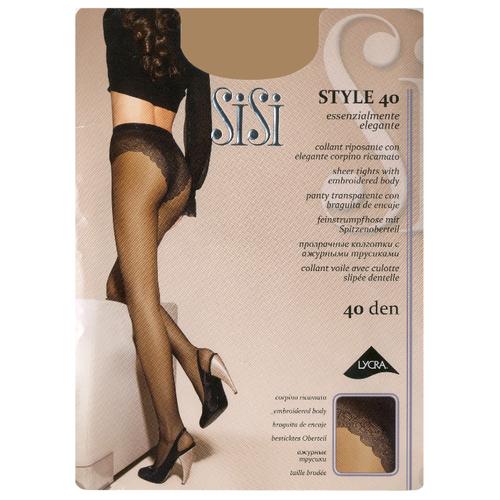 Колготки Sisi Style 40 den miele 4-L (Sisi)Колготки и чулки<br>