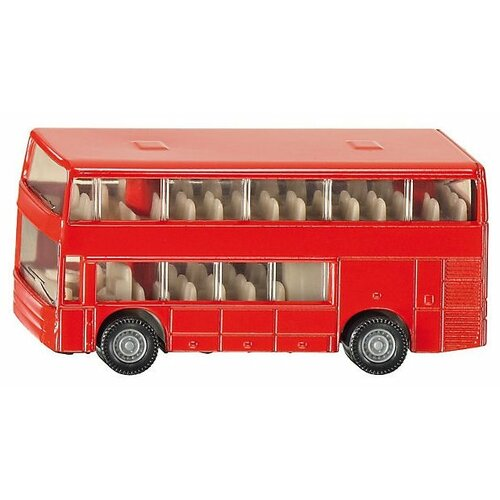 Купить Автобус Siku двухэтажный (1321) 1:87 7.2 см красный, Машинки и техника