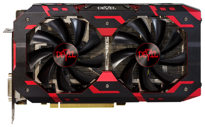 Видеокарта PowerColor Radeon RX 590 1576MHz PCI-E 3.0 8192MB 8000MHz 256 bit DVI HDMI HDCP Red Devil