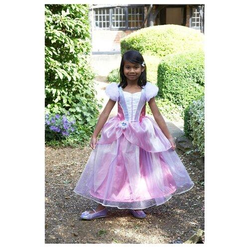 Костюм travis designs Принцесса Панси (PRP), белый/розовый, размер 3-5 лет платье travis designs бальное платье розовый размер 3 4 года