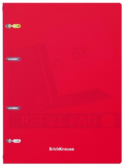 Тетрадь общая Erich Krause Classic, красный, А5, 80 листов, клетка
