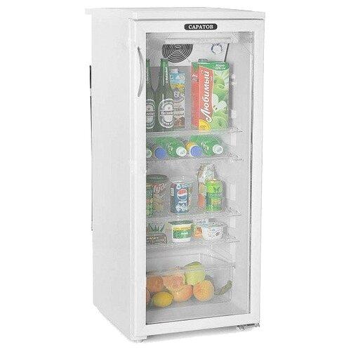 Холодильный шкаф Саратов 501 (КШ-160 м) белый холодильник саратов 451 кш 160
