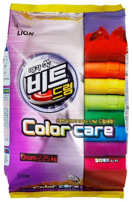 Стиральный порошок Lion Beat Drum Color care — купить по выгодной цене на Яндекс.Маркете