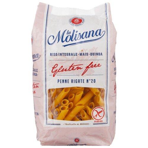 La Molisana Spa Макароны Penne Rigate № 20 многозерновые без глютена, 400 г