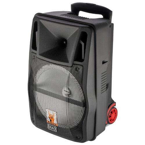 Портативная акустика Max Q-81 черный портативная акустика remax rb m5