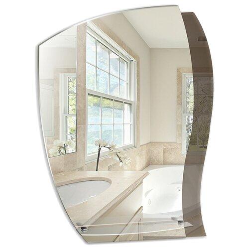 Зеркало Mixline Дуэт с полкой 55x72 см без рамы